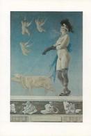 CARTE POSTALE ORIGINALE 10CM/15CM MUSEE DES ARTS DECORATIFS PARIS 1985 TABLEAU DE FELICIEN ROPS PORNOKRATES 1878 - Pittura & Quadri