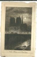 75 CPA Paris Gravure Eau Forte Notre Dame Et Petit Pont Pinet Graveur N° 2 - Notre Dame De Paris