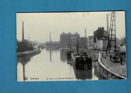 CHARLEROI PENICHE, LE CANAL A LA ROUTE DE PHILIPPEVILLE - Embarcaciones