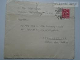 ZA167.10  Hungary  1941 - Cover - Dr. Bóné Endre -to Nyárády - Vitéz Nedeczky Békásmegyer - Covers & Documents