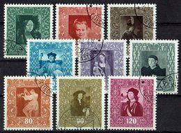 Liechtenstein 1949 // Mi. 268/276 O (033455) - Liechtenstein