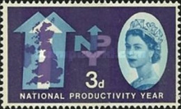 USED  STAMPS Great-Britain - National Productivity Year  - 1961 - 1952-.... (Elizabeth II)
