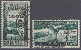 TRIESTE  Zona A AMG-FTT - 1951 - Serie Completa Usata: Yvert 130/131; Due Valori. - 7. Triest