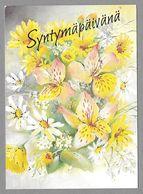 Postal Stationery Red Cross Finland (SPR 27) - Flowers Lily Blume Fleur Illustr. Priit Rea - Used - Finlande