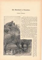 144 England Devon Exeter Devonshire 1 Artikel Mit 10 Bildern Von 1886 !! - Historische Dokumente