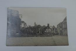 Langemark  Ww1 1914 1918  Cpa Pk Fotokaart Stadscentrum - Langemark-Poelkapelle