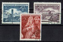 *Liechtenstein 1949 // Mi. 281/283 O (033..456) - Liechtenstein