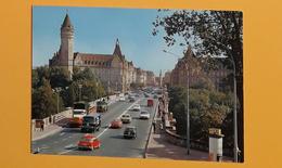 PK/CP : Pont Adolphe, Avenue De La Liberté Et Caisse D'Epargne De L'Etat (vintage Cars) - Luxemburg - Stad