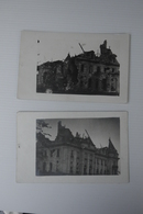 Voormezele   Ww1 1914 1918  Cpa Pk Fotokaart 2stuks Kapotgeschoten Schloss Voormezeele 1916 - Ieper