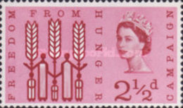 """USED  STAMPS Great-Britain - """"Freedom From Hunger"""" Campaign  - 1963 - 1952-.... (Elizabeth II)"""