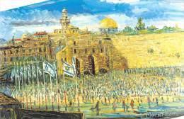17574  Morris Katz,  Passover In Jerusalem - Paintings