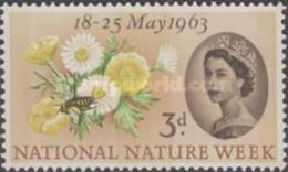 USED  STAMPS Great-Britain - National Nature Week - 1963 - 1952-.... (Elizabeth II)