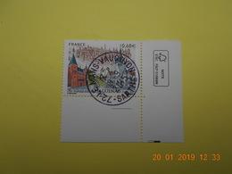 FRANCE 2015   YTN°4969    900eme ANN.DE HAGUENAU  Timbre Neuf Oblitéré  Coin De Feuille - France