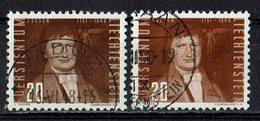 Liechtenstein 1948 // Mi. 259 A,b O (033458) - Liechtenstein