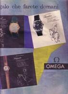 (pagine-pages)PUBBLICITA' OMEGA   Epoca1959/462. - Altri