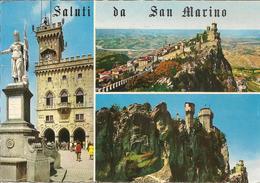 CPM Saint Marin, Saluti Di... (multivues) - Saint-Marin