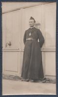 Photo De Guerre, Papier Fin.112° D'Artillerie. L'Abbé Carrel, Aumônier. - War, Military