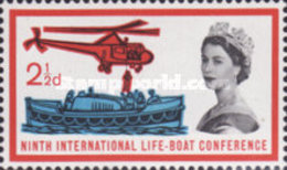 USED  STAMPS Great-Britain - The 9th Anniversary Of Lifeboat Under Sa - 1963 - 1952-.... (Elizabeth II)