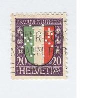 SUISSE N° 194 Ob Cote 2,50  Euros  Avec Piquage - Switzerland