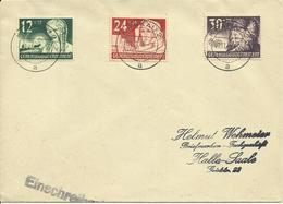 1940 Generalgouvernement  Satz Auf Umschlag Mit Stempel Krakau 2 - Occupation 1938-45
