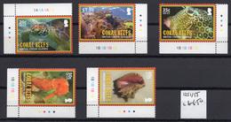 2010 - BRIT.VIRGIN ISLAND -  Catg.. Mi  1211/1215 - NH - (UP.207.1) - British Virgin Islands