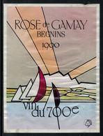 Rare // Etiquette De Vin // 700ème De La Confédération // Rosé De Gamay, Vin Du 700ème - 700ème De La Confédération Helvétique