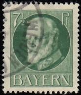 BAVARIA - Scott #97 King Ludwig III (*) / Used Stamp - Bavaria