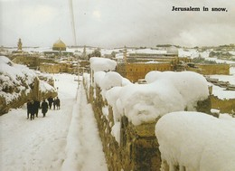 JERUSALEM In Snow - Israel