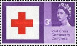 USED  STAMPS Great-Britain - The 100th Anniversary Of Red Cross - 1963 - 1952-.... (Elizabeth II)