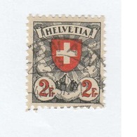SUISSE  N° 211 Ob   Cote 9,00 Euros - Schweiz