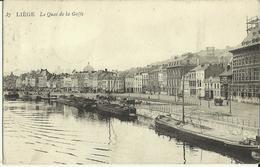 Liège -- Le Quai De La Goffe.   ( 2 Scans ) - Liege
