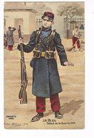 Uniforme.Le Bleu,  Début De Guerre 1914.  Illustrateur .Patriotic. ( T.u.238) - Uniforms