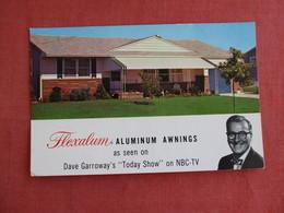 Flexalum Aluminum Awnings As Seen On Today Show NBC TV   >ref 3135 - Reclame