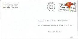 Portugal Cover With Timor Loro Sae Não Pode Esperar Cancel - Briefe U. Dokumente