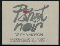 Rare // Etiquette De Vin // Autres // Pinot Noir De Chamoson - 700ème De La Confédération Helvétique