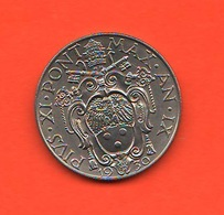 50 Centesimi 1930 Papa Pio XI Vaticano Vatikan Coniati 80.000 Mintage - Vaticano