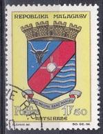 Madagaskar Madagascar Malagasy 1963 Stadt Städte Towns Citys Wappen Arms Stadtwappen Antsirabe, Mi. 509 Gest. - Madagaskar (1960-...)