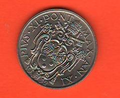 20 Centesimi 1932 Papa Pio XI Vaticano Vatikan Coniati 80.000 Mintage - Vaticano