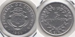 Costa Rica 5 Céntimos 1958 KM#184.1a - Used - Costa Rica