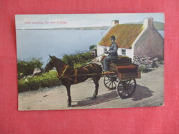 Irish Jaunting Car & Cottage   Ref 3136 - Ireland