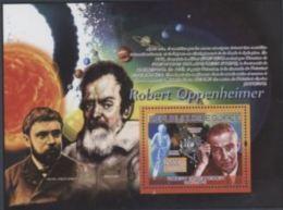 Guinée 2007 Nobel Albert EINSTEIN Galilee Henri Poincaré Robert OPPENHEIMER  Space Espace - Premio Nobel