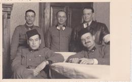 CROATIA, ZAGREB   --  NDH OFFICERS,  2 MIT FES, FROM BOSNIA  ~~  FOTO CORSO, ZAGREB  ~~  PC FORMAT - Militaria