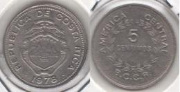 Costa Rica 5 Céntimos 1978 KM#184.2 - Used - Costa Rica