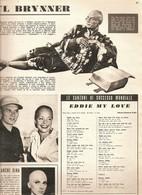 (pagine-pages)YUL BRINNER   Grandhotel1959/682. - Libri, Riviste, Fumetti