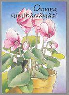 Postal Stationery Red Cross Finland (SPR 27) - Flowers Blume Fleur Illustr. Priit Rea - Used - Finlande