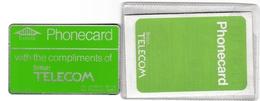 Phonecard With The Compliments Of British Telecom - Dans Sa Pochette Avec Prospectus - Autres