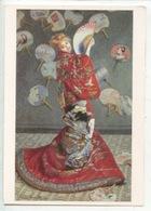 Claude Monet 1840/1926 - La Japonaise 1875 (Boston) Cp Vierge - Pittura & Quadri