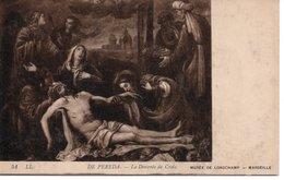 DE PEREDA - LA DESCENTE DE CROIX - MUSÉE DE LONGCHAMP - MARSEILLE - Pittura & Quadri