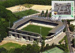 Stade La Mosson De Montpellier Avec Timbre Stadio Stadion Stadium Estadio - Fútbol