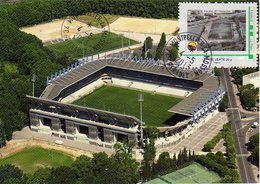 Stade La Mosson De Montpellier Avec Timbre Stadio Stadion Stadium Estadio - Football